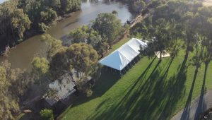 drone paradise gardens marquee